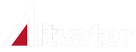 Altvater Logo invers